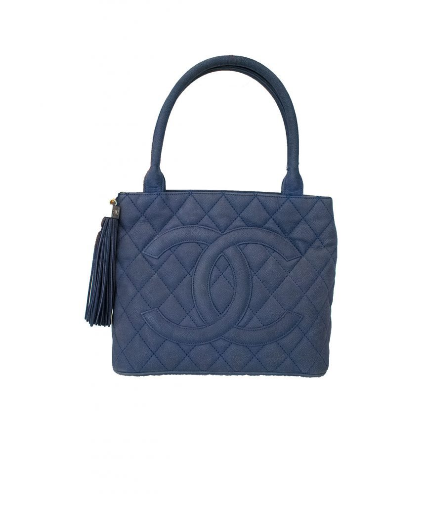 Chanel Navy Tote - Boro Dress Rentals
