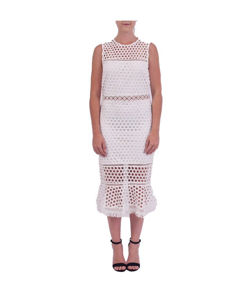 Chelsea Eyelet Knit - Boro Dress Rentals