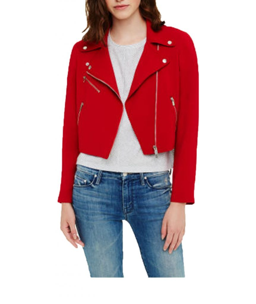 Club Monaco Red Moto - Boro Dress Rentals