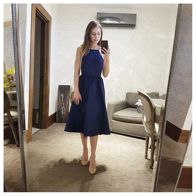 Chelsea Round Low Back - Boro Dress Rentals