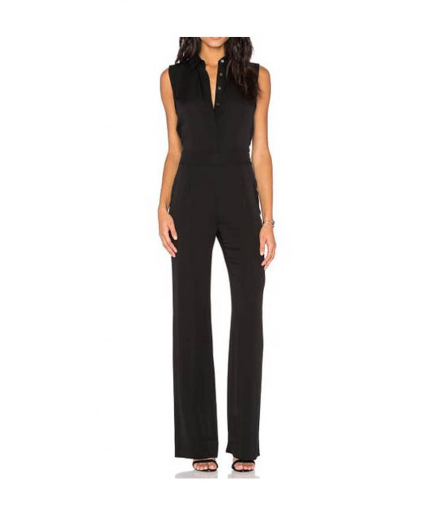 Diane von Furstenberg Black Jumper - Boro Dress Rentals