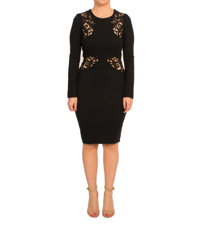 French Connection Lace Cut-outs - Boro Dress Rentals