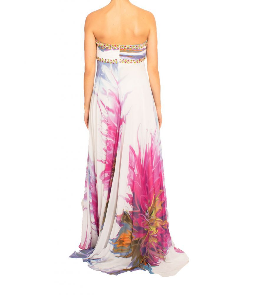 Terani Floral Gown - Boro Dress Rentals