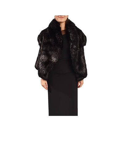 Fox Fur Vest - Boro Dress Rentals