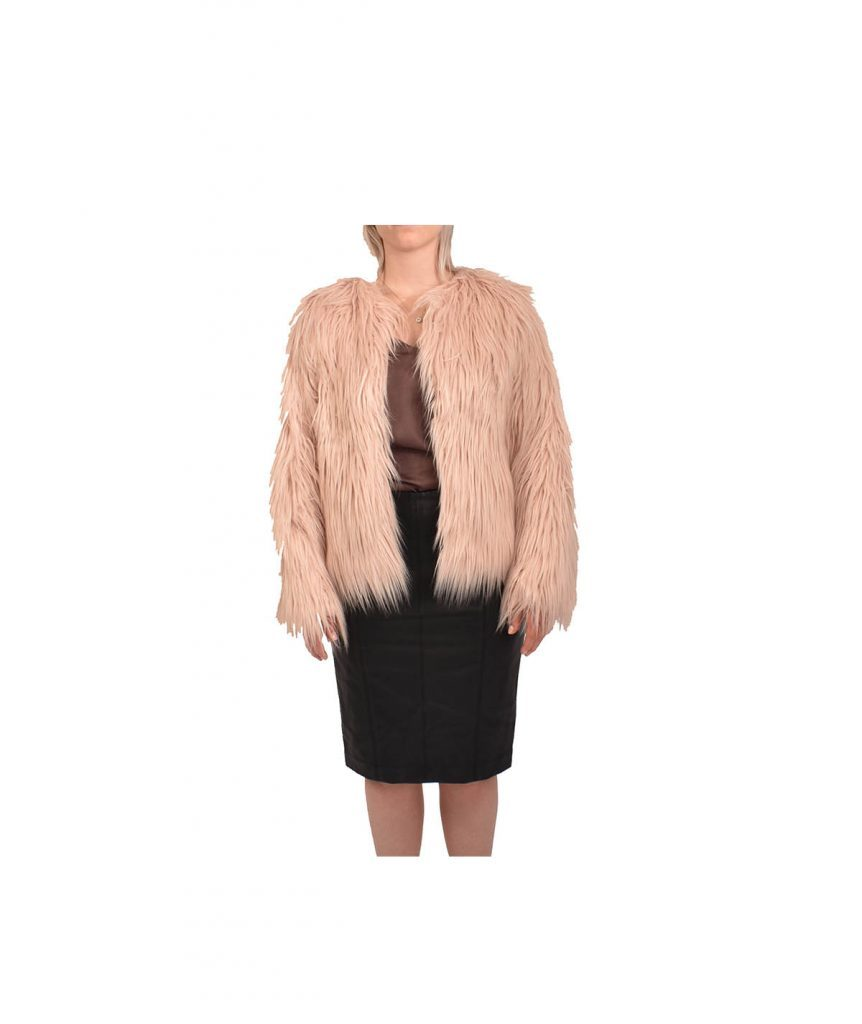 Lanshifei Pink Faux Fur Jacket - Boro Dress Rentals