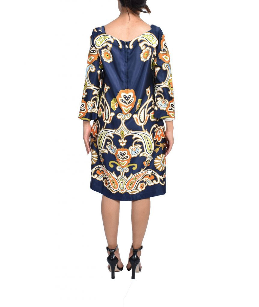 J Crew Silk Paisley - Boro Dress Rentals