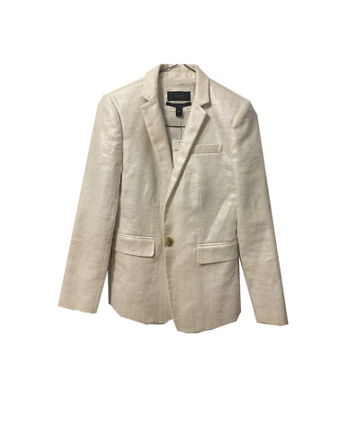 J Crew White Blazer - Boro Dress Rentals