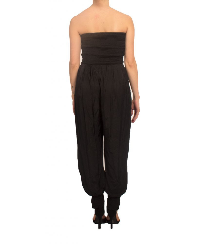 Daisy Black Tube Jumpsuit - Boro Dress Rentals