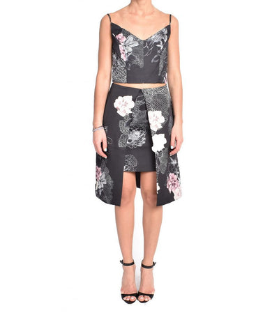 Keepsake Floral Two-Piece - Boro Dress Rentals