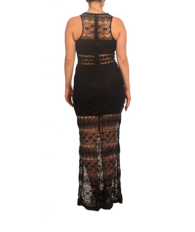 Ark & Co Lace Maxi - Boro Dress Rentals