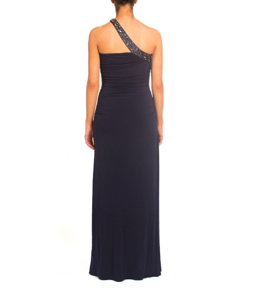 Shelli Segal Navy Gown - Boro Dress Rentals