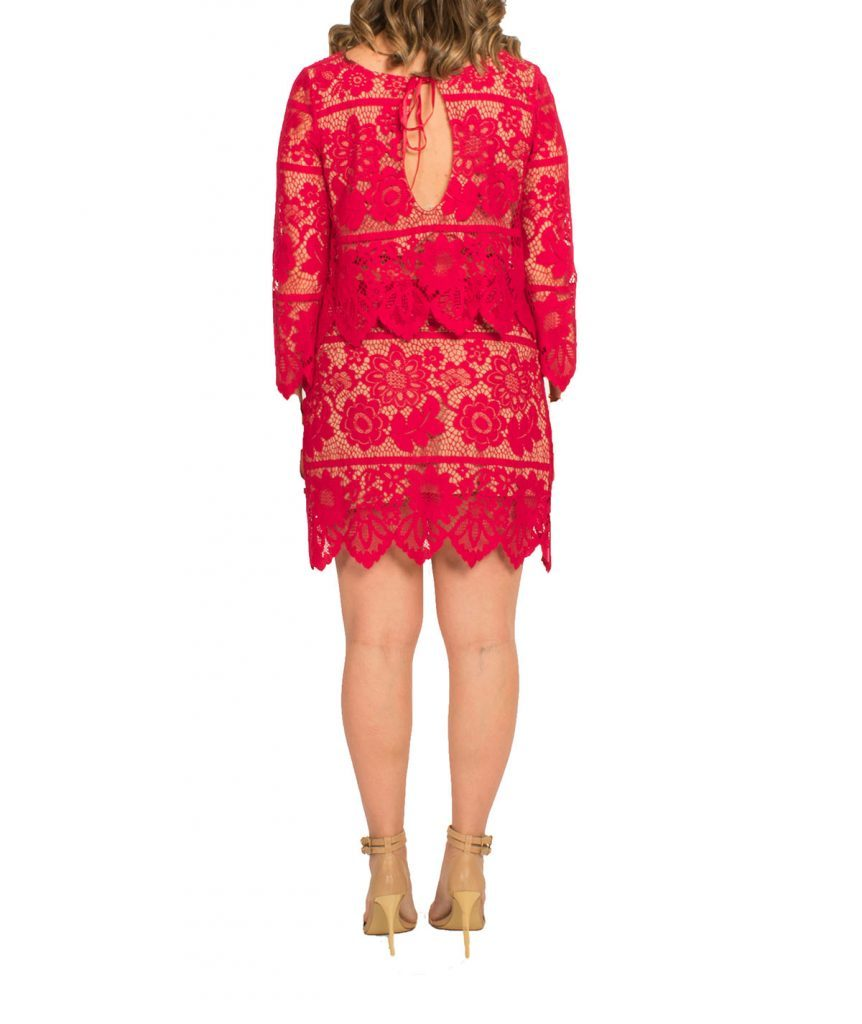For Love & Lemons Red 2-Piece