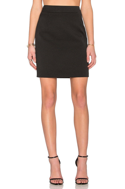 Love Moschino Heart Pocket Pencil Skirt