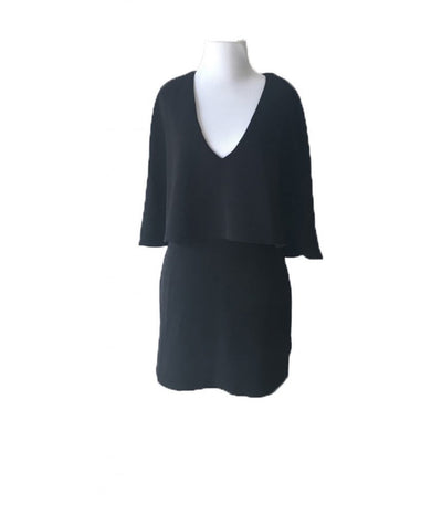 Maddy K Cape Dress - Boro Dress Rentals