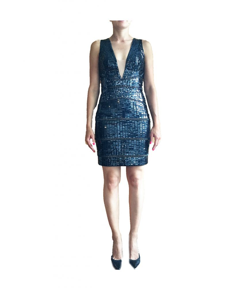 Mandalay Navy Sequin - Boro Dress Rentals