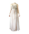 Maya Deluxe Blush Bead Gown - Boro Dress Rentals