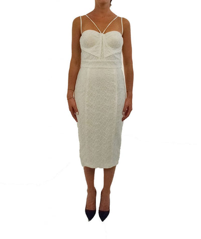 Misha White Lace - Boro Dress Rentals