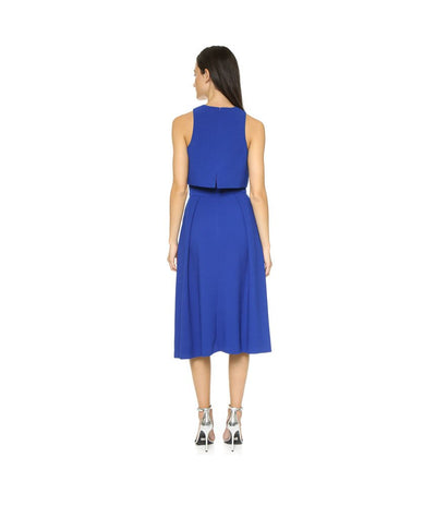 Black Halo Blue two-piece - Boro Dress Rentals