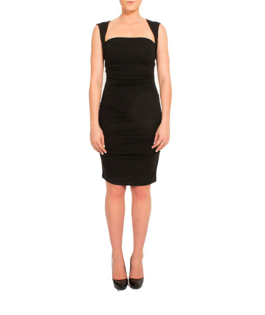 Nicole Miller Ruched - Boro Dress Rentals