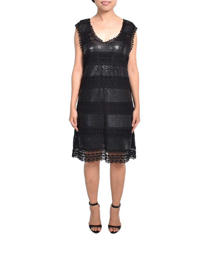 Philosophy Lace Sequin - Boro Dress Rentals