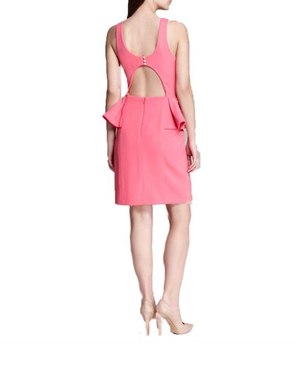 Laundry Pink Peplum - Boro Dress Rentals