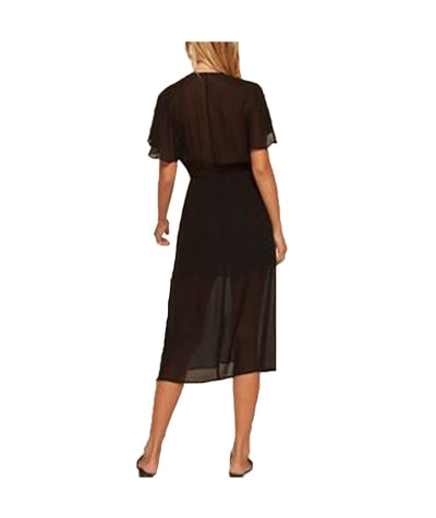 Reformation Positano Black - Boro Dress Rentals