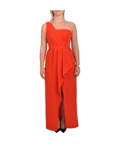BCBG Red Orange Gown - Boro Dress Rentals