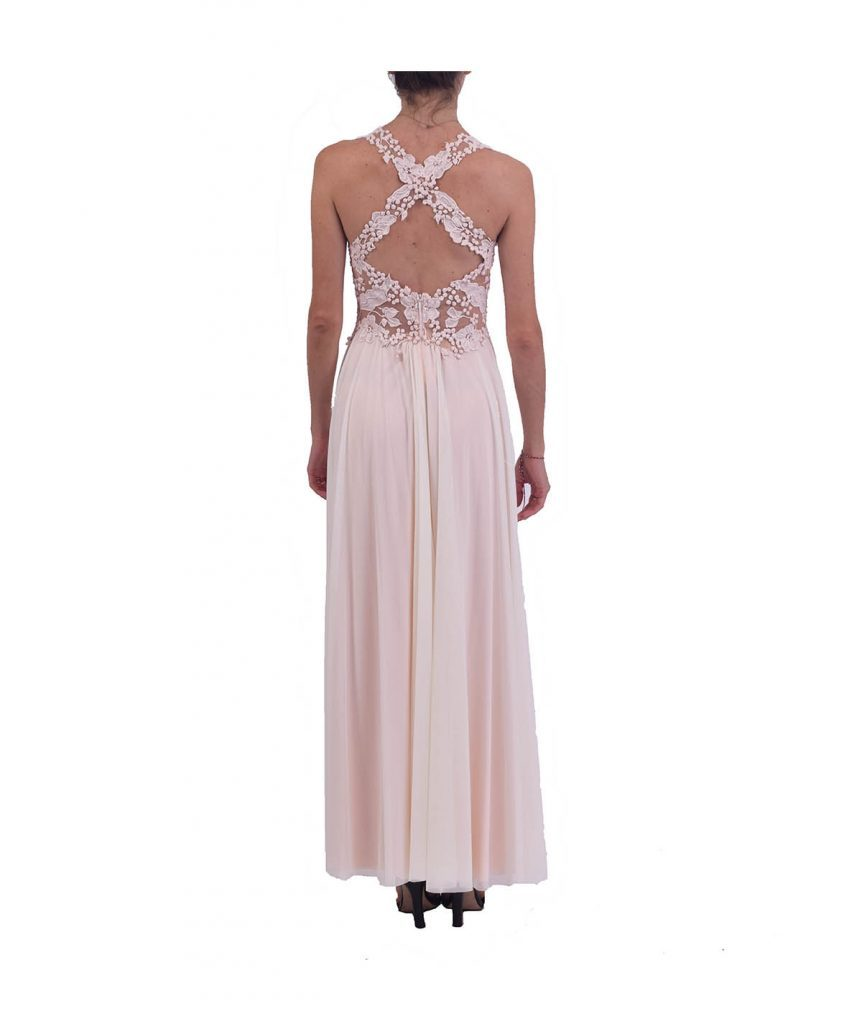 Ema Savahl Rose Gown - Boro Dress Rentals