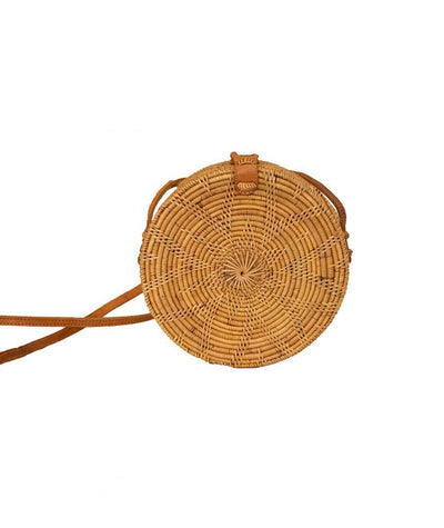 Bali Round Woven Basket - Boro Dress Rentals