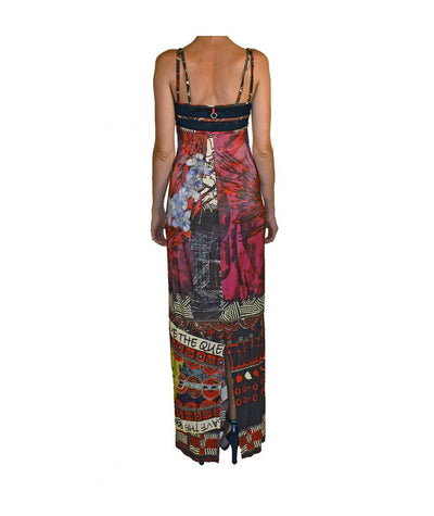 Save the Queen Colourful Gown - Boro Dress Rentals