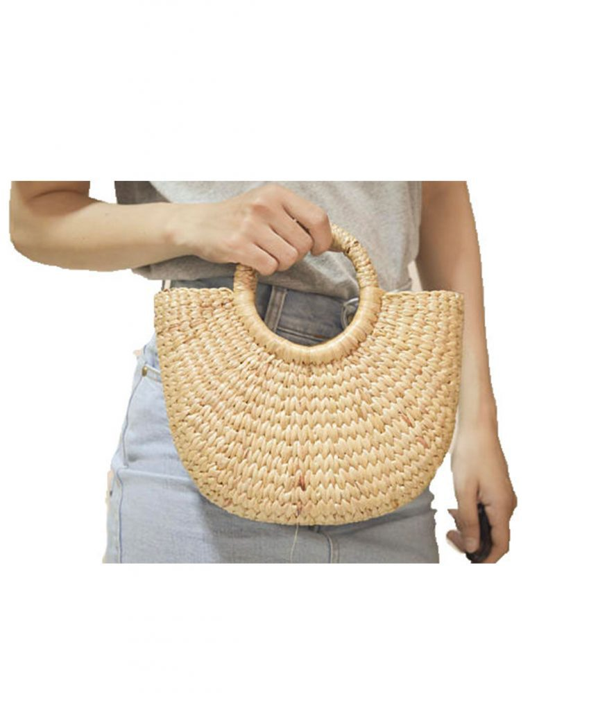 Seagrass Mini Basket Tote - Boro Dress Rentals
