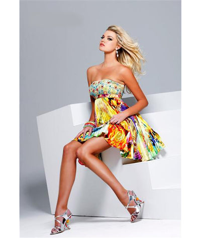 Sherri Hill Multicolour Dress - Boro Dress Rentals