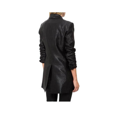 Smythe Oversized Metallic Blazer - Boro Dress Rentals