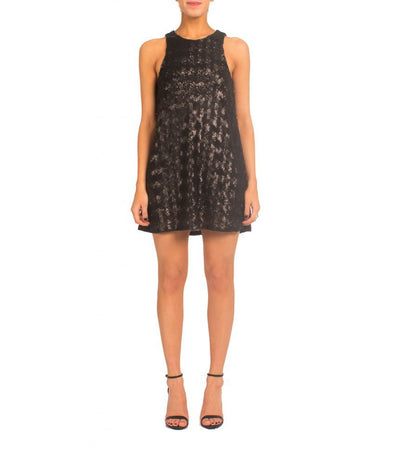 Talula Black Sequin - Boro Dress Rentals