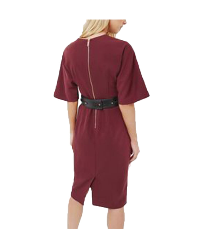 Ted Baker Burgundy with Belt