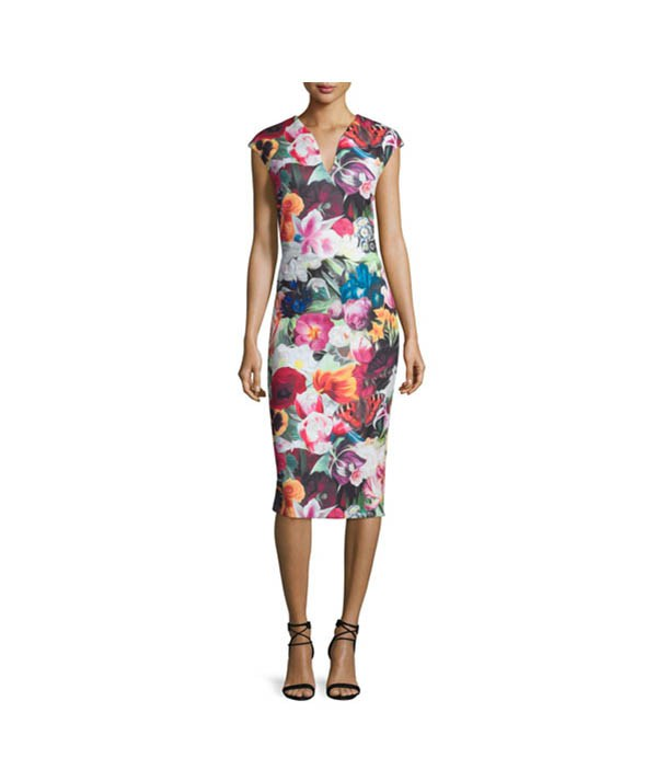 Ted Baker Floral Swirl - Boro Dress Rentals