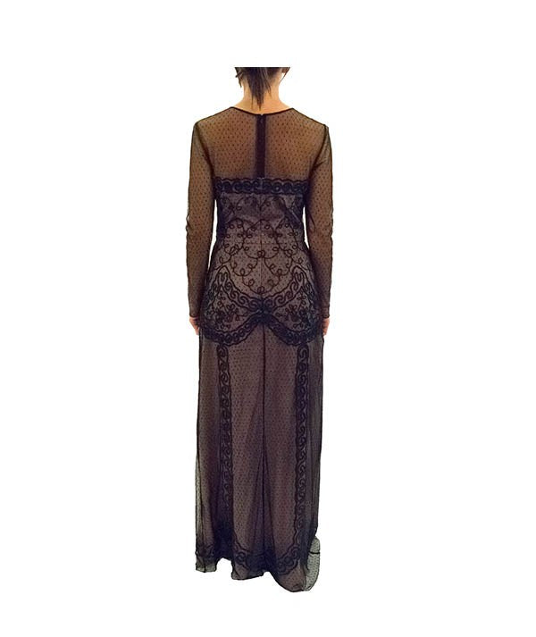 Temperley London Lace Gown - Boro Dress Rentals
