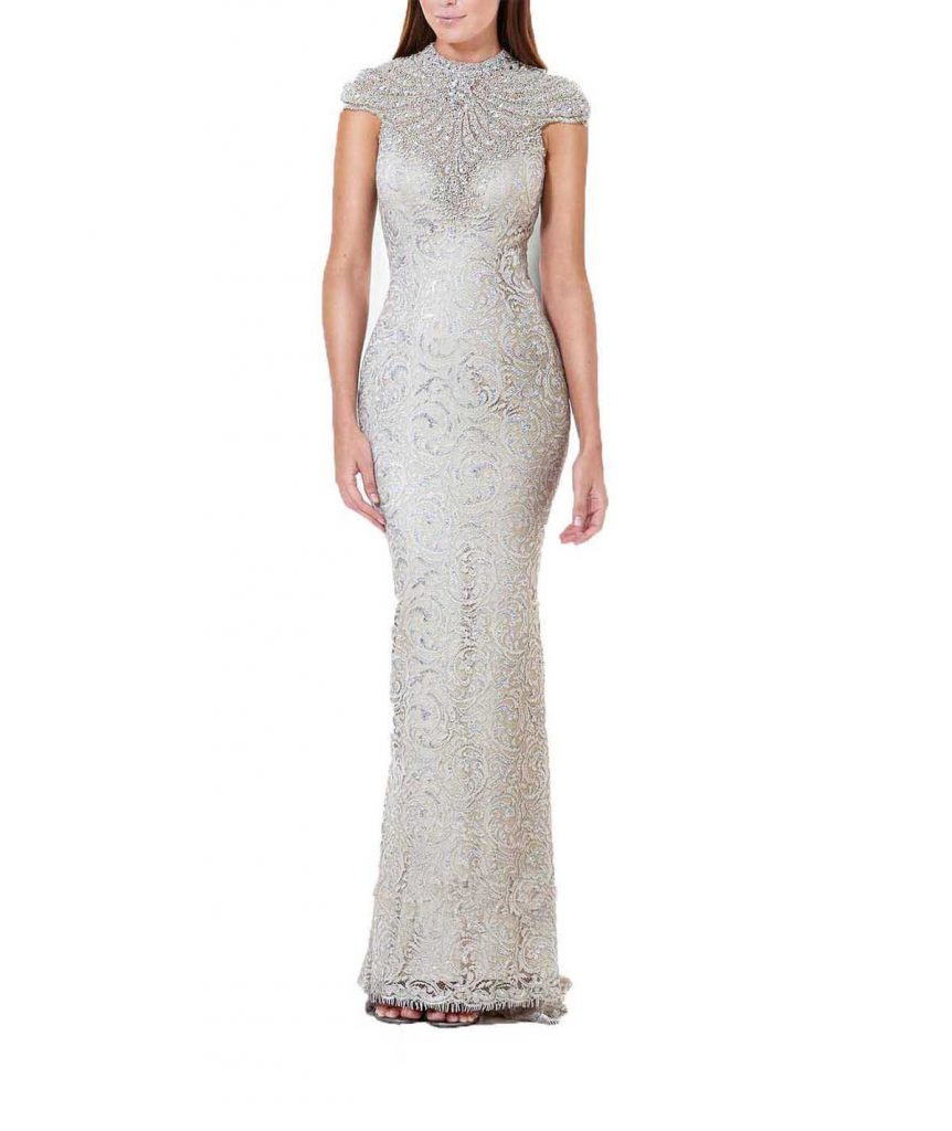 Terani Silver Gown - Boro Dress Rentals