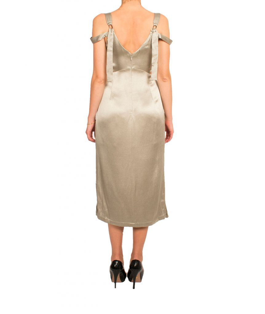 Topshop Silk Midi - Boro Dress Rentals
