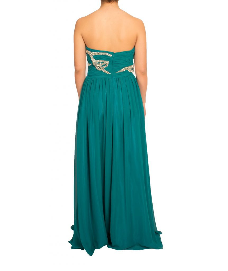 Shahani Turquoise Gown