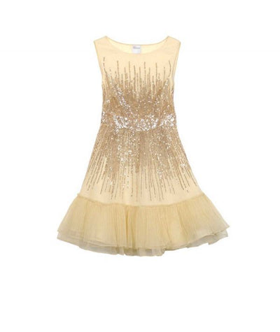 Valentino Gold Cocktail - Boro Dress Rentals