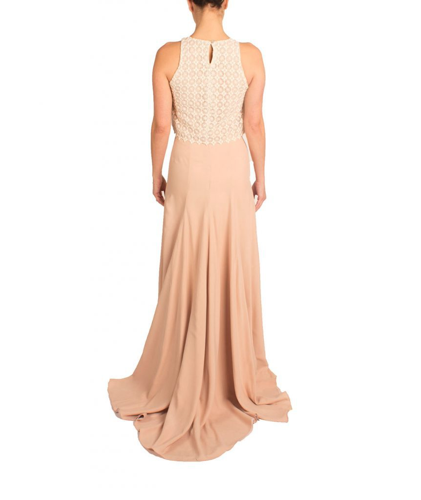 Sole Luna Lace Top Gown - Boro Dress Rentals
