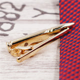 Bullet Tie Clip - Gold and Silver