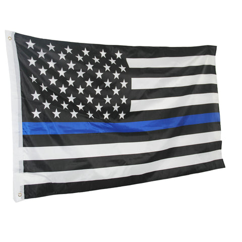 *FREE* Thin Blue Line Flag