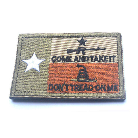 *FREE* Come and Take It Patches