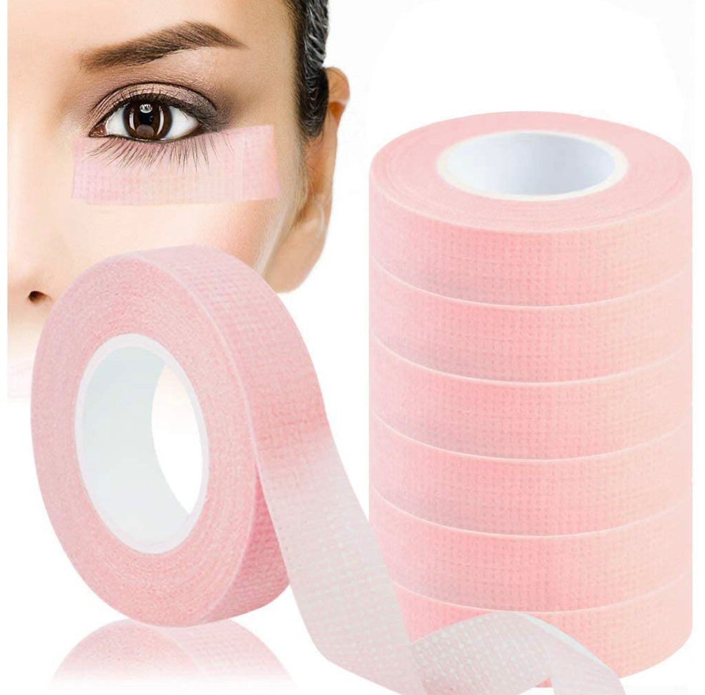 Pink  Paper Tape for Eyelash Extensions