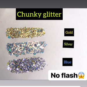 Chunky glitter bundle of 3