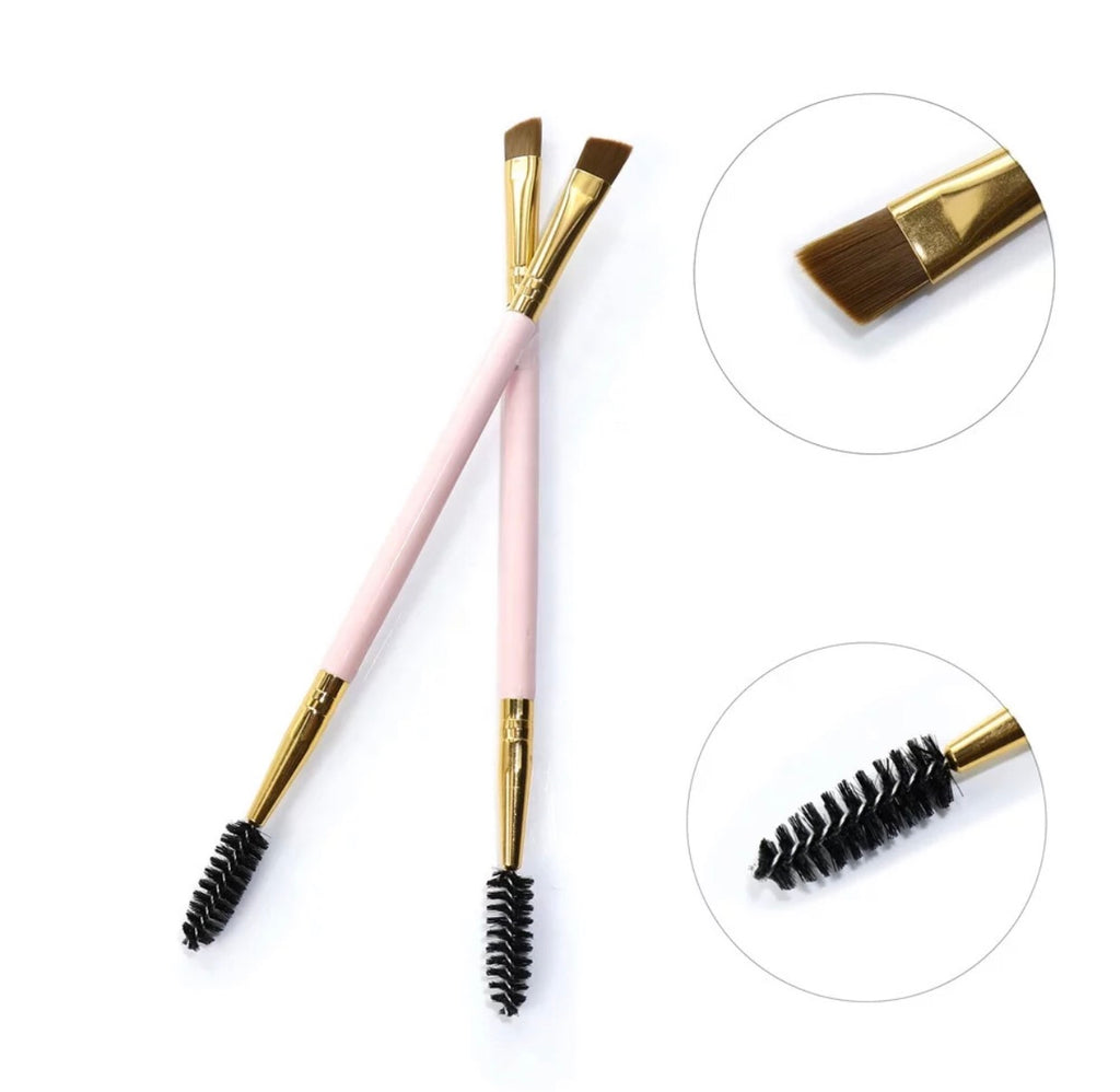 "BROW BRUSH ""pink"""
