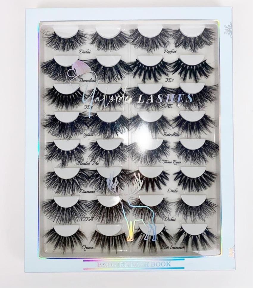 Badgirl Lash book 🌻💅🏾