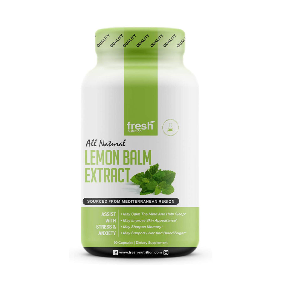 Lemon Balm Extract - 90 Capsules